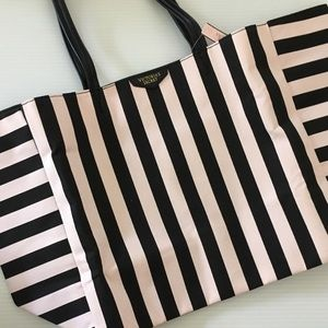 Victoria's Secret Striped Tote Bag | NWT